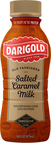 Darigold Introduces Salted Caramel Flavor as Part of Old Fashioned Milk Product Line (Photo: Busines ...