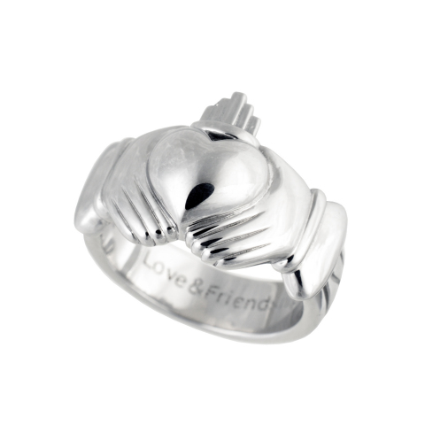 Paul Costelloe Claddagh ring AMATERUS using COBARION (Photo: Business Wire)