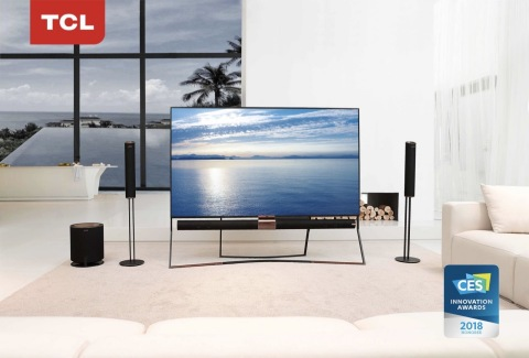 The award-winning TCL QLED X6 (Photo: Business Wire)