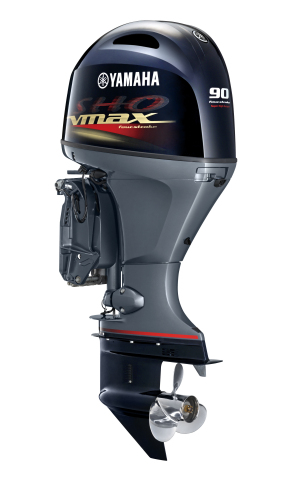 The new Yamaha V MAX SHO 90 is the strongest 90-horsepower outboard on the market, offering class-leading torque and top speed. (Photo: Business Wire)