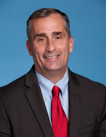 Brian Krzanich is the chief executive officer of Intel Corporation. (Photo: Business Wire)