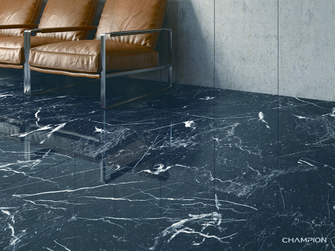 Please find Champion latest Marble collection- Black Marquina in SOON BEE HUAT Concept Boutiques. (Photo: Business Wire)