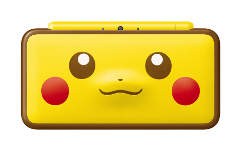 On Jan. 26, an adorable New Nintendo 2DS XL system featuring Pikachu's iconic face launches in stores at a suggested retail price of $159.99. (Graphic: Business Wire)