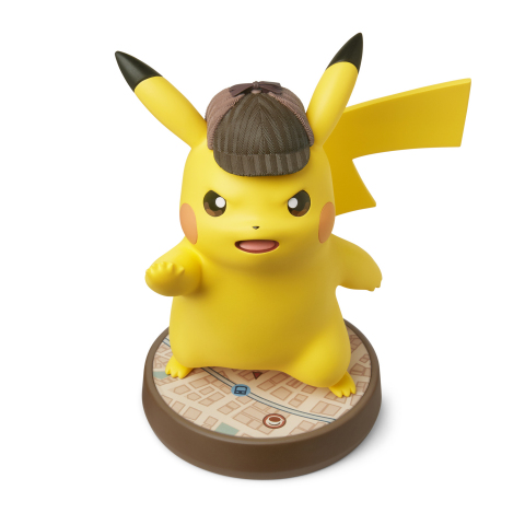 Also launching on March 23 is a special edition Detective Pikachu amiibo figure. (Graphic: Business Wire)