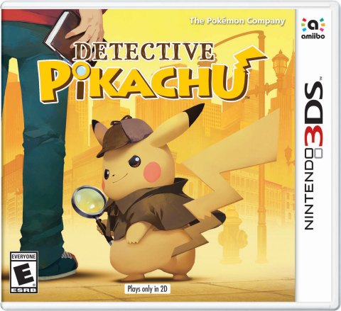 Announced earlier today, the new video game Detective Pikachu will launch on March 23 in stores, in Nintendo eShop on Nintendo 3DS and at Nintendo.com at a suggested retail price of $39.99. (Graphic: Business Wire)