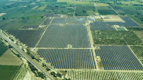 Azure Power Solar PV Plant (Photo: Business Wire)