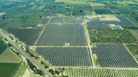 Azure Power Solar PV Plant (Photo: Business Wire)