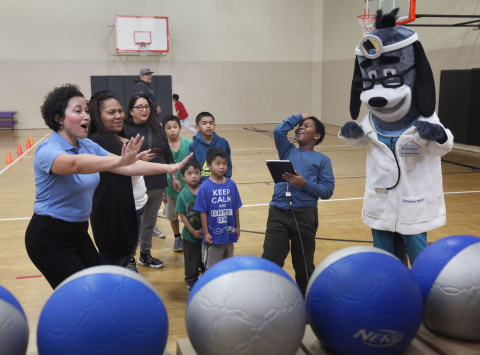 UnitedHealthcare donated 200 NERF Energy Game Kits to the YMCA of Superior California as part of a n ...
