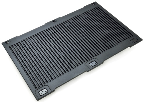 Large plastic roof panel for fuel cell bus (Photo: Business Wire)