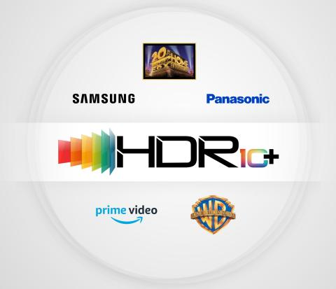 HDR10+ Partnership Logo (Graphic: Business Wire)