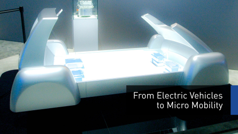 """A scalable """"ePowertrain"""" platform for small EVs (Photo: Business Wire)"""