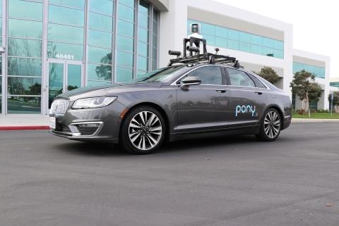 One of Pony.ai's prototype cars (Photo: Business Wire)