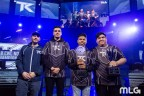 """CWL New Orleans Open Champions Team Kaliber (Dylan """"Theory"""" McGee, Lamar """"Accuracy"""" Abedi, Kenny """"Kenny"""" Kuavo and Martin """"Chino"""" Chino) (Photo: Business Wire)"""