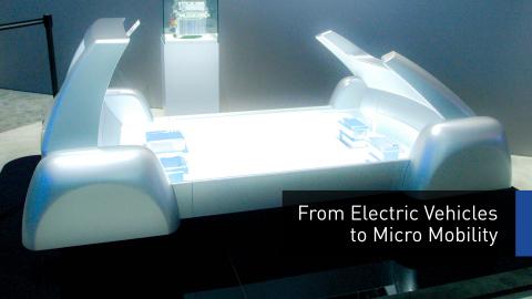 """Panasonic sviluppa la piattaforma scalabile """"ePowertrain"""" per veicoli elettrici di piccole dimensioni"""
