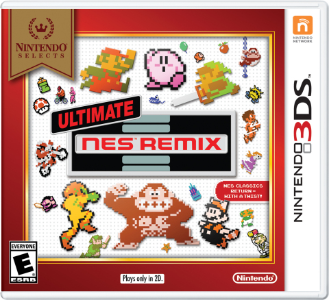 Starting on Feb. 3, Ultimate NES Remix is joining the Nintendo Selects library and will be available at a suggested retail price of only $19.99. (Graphic: Business Wire)