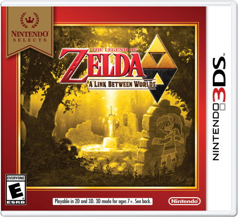 Starting on Feb. 3, The Legend of Zelda: A Link Between Worlds is joining the Nintendo Selects library and will be available at a suggested retail price of only $19.99. (Graphic: Business Wire)