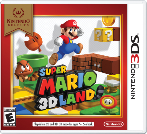 Starting on Feb. 3, Super Mario 3D Land is joining the Nintendo Selects library and will be available at a suggested retail price of only $19.99. (Graphic: Business Wire)