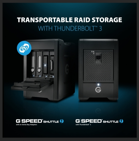 Transportable RAID Storage with Thunderbolt™ 3 (Photo: Business Wire)