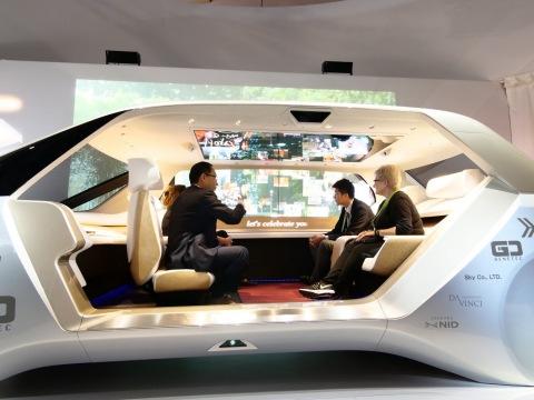 Living Space Autonomous Cabin (Photo: Business Wire)