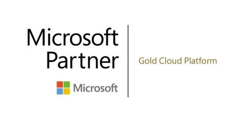 Microsoft Gold Cloud Platform logo (Graphic: Business Wire)