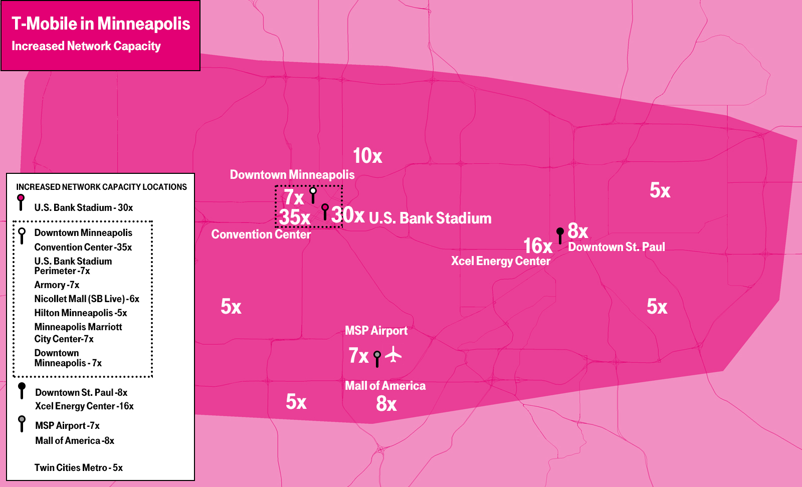T-Mobile Is Ready for Some Football! Boosts LTE Capacity in ...
