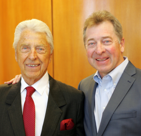 Dave Graebel (left) with son Bill Graebel (right). (Photo: Business Wire)