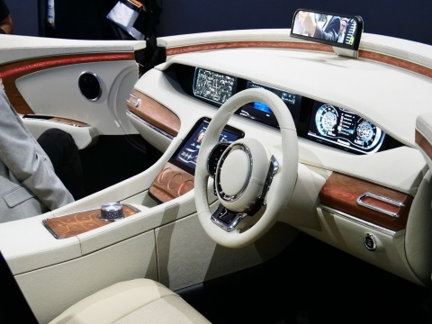 Panasonic Smart Design Cockpit (Photo: Business Wire)