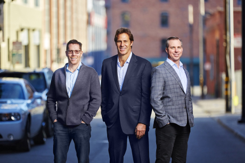 Momentum Cyber Founders: Michael Tedesco, Dave DeWalt, and Eric McAlpine (Photo: Business Wire)
