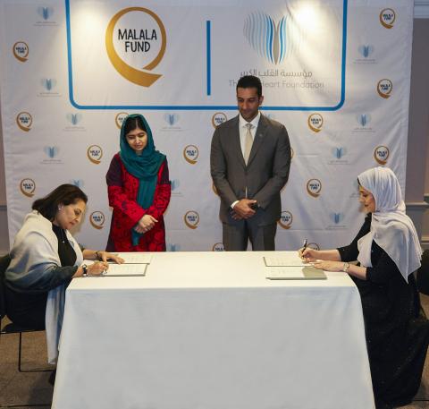 1.000 ragazze pakistane potranno andare a scuola grazie a The Big Heart Foundation e al Malala Fund
