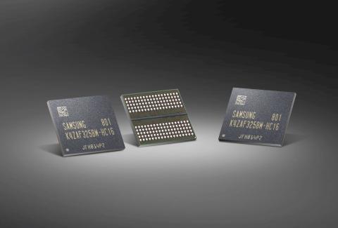 Samsung 16Gb GDDR6 (Photo: Business Wire)