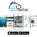 The free Netfish app offers many features to help anglers be more successful on the water. Their recent partnership with CarbonTV, expands their video offering. (Photo: Business Wire)