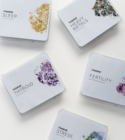 Thorne Introduces Home Health Tests for Fertility, Thyroid, Sleep, and Stress (Photo: Business Wire)
