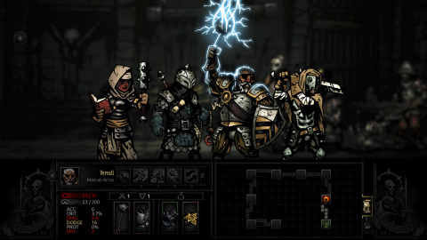 Darkest Dungeon is a challenging, gothic roguelike turn-based RPG about the psychological stresses of adventuring. (Photo: Business Wire)