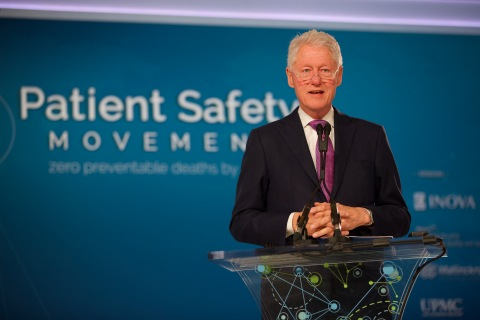 President Bill Clinton, the Founder of the Clinton Foundation and 42nd President of the United States, to speak at the 6th Annual World Patient Safety, Science & Technology Summit in London, England (Photo: Business Wire)