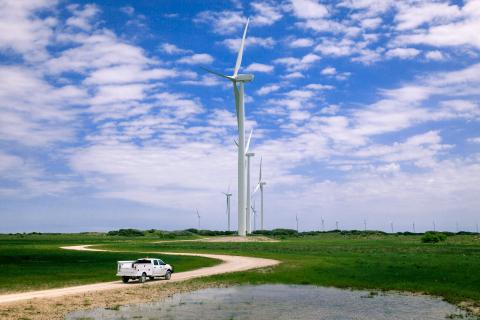 Baffin Wind Farm, Avangrid Renewables nearby South Texas Coast neighbor to what will be the Karankawa wind farm (Photo: Business Wire)