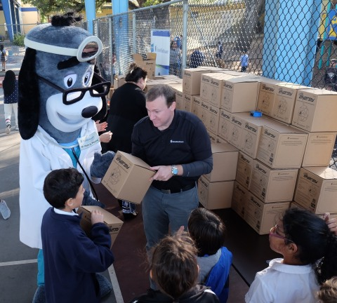 UnitedHealthcare donated 200 NERF Energy Game Kits to Boys & Girls Clubs of Miami-Dade as part of a  ...