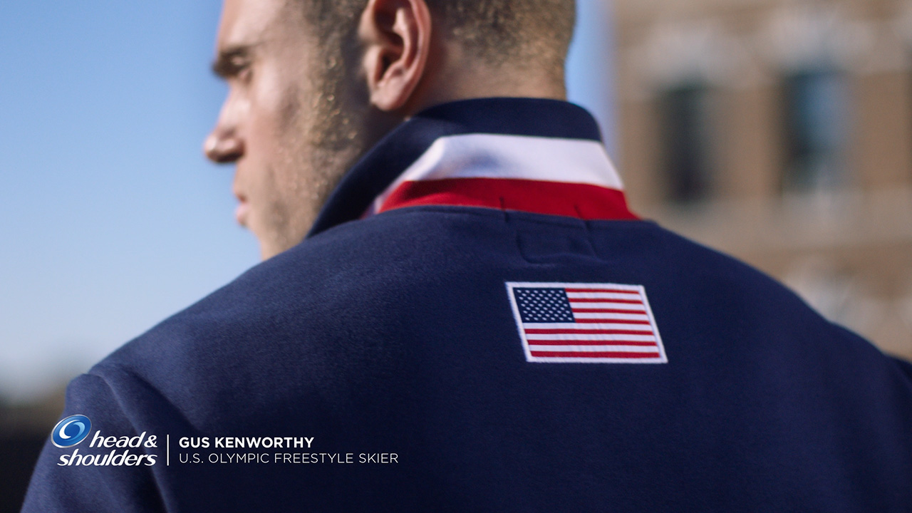 Head & Shoulders Announces U.S. Freeskier Gus Kenworthy as New Brand Ambassador for Olympic Winter Games PyeongChang 2018