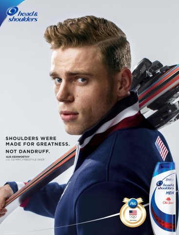 Head & Shoulders Announces U.S. Freeskier Gus Kenworthy as New Brand Ambassador for Olympic Winter Games PyeongChang 2018 (Photo: Business Wire)