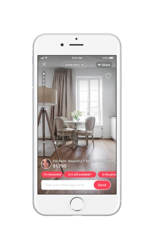 Tens of millions of people who have already downloaded letgo's free app can easily browse and list homes, apartments and other property starting this month. (Photo: Business Wire)