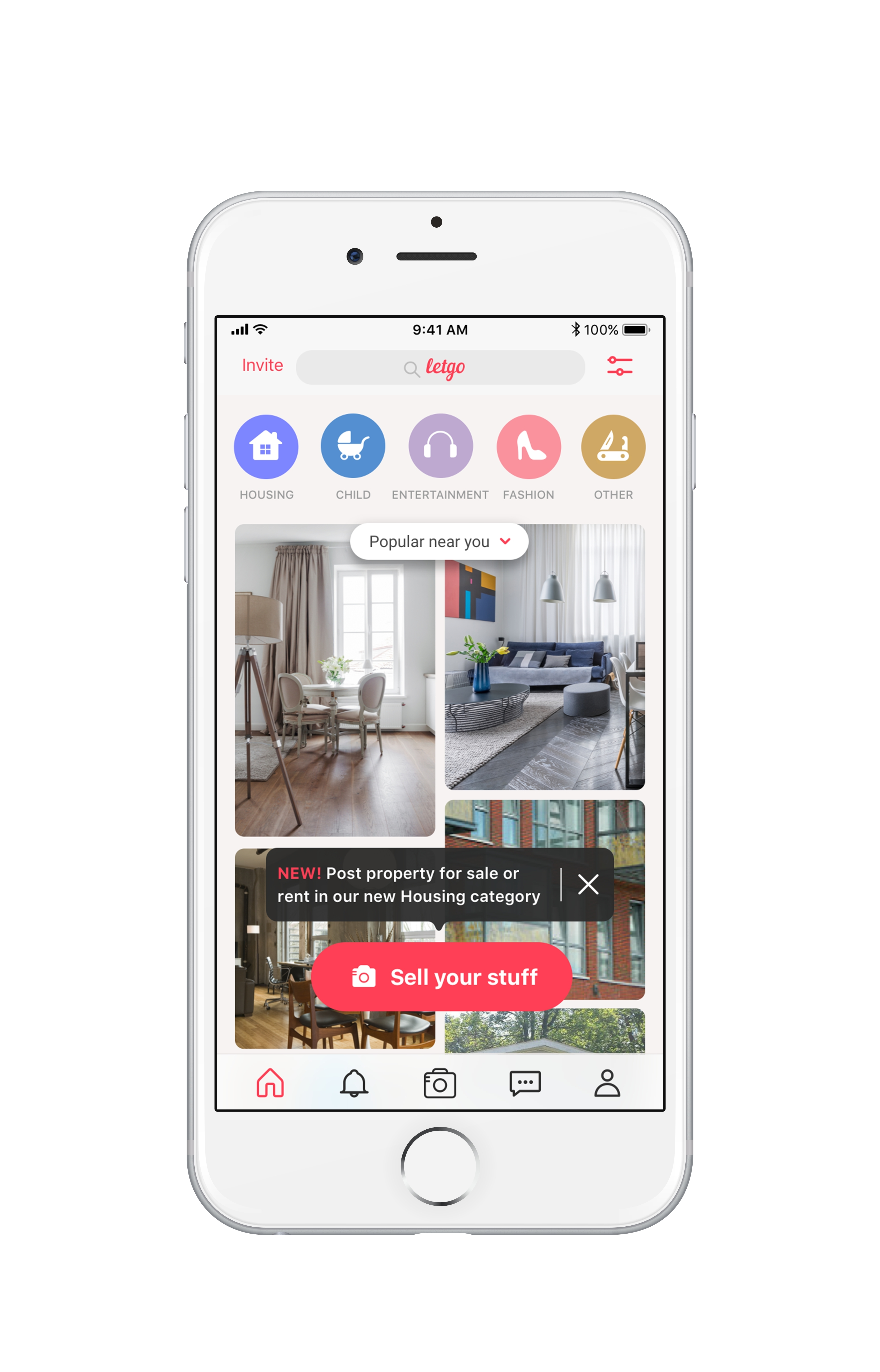 letgo adds housing listings expanding biggest marketplace of its kind business wire