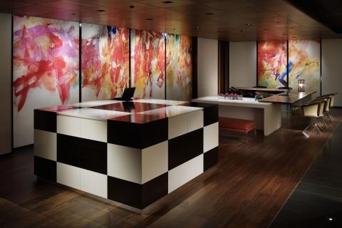 Hyatt Centric Ginza Tokyo Reception Lobby (Photo: Business Wire)