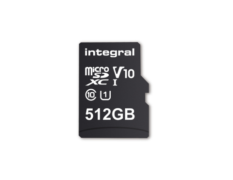 Integral 512GB Smartphone & Tablet microSDXC Memory Card (Photo: Business Wire)