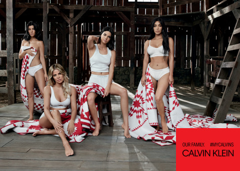 CALVIN KLEIN, INC. ANNOUNCES THE SPRING/SUMMER 2018 Campaign Led by Kim Kardashian West, Khloé Kardashian, Kourtney Kardashian, Kendall Jenner and Kylie Jenner
