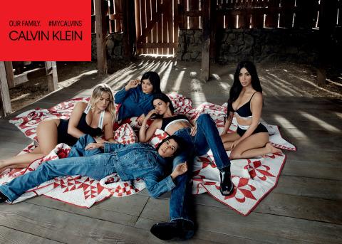 CALVIN KLEIN, INC. ANNOUNCES THE SPRING/SUMMER 2018 Campaign Led by Kim Kardashian West, Khloé Kardashian, Kourtney Kardashian, Kendall Jenner and Kylie Jenner