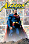 """Action Comics #1000: 80 Years of Superman"" hardcover book cover by Jim Lee. (Graphic: Business Wire)"