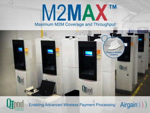 Airgain's M2Max Antenna (Graphic: Business Wire)