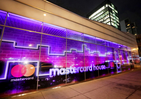 A general view of the atmosphere at the celebration of Mastercard's Start Something Priceless Campaign at the launch of the Mastercard House on January 22, 2018 in New York City. (Photo by Cindy Ord/Getty Images for Mastercard)