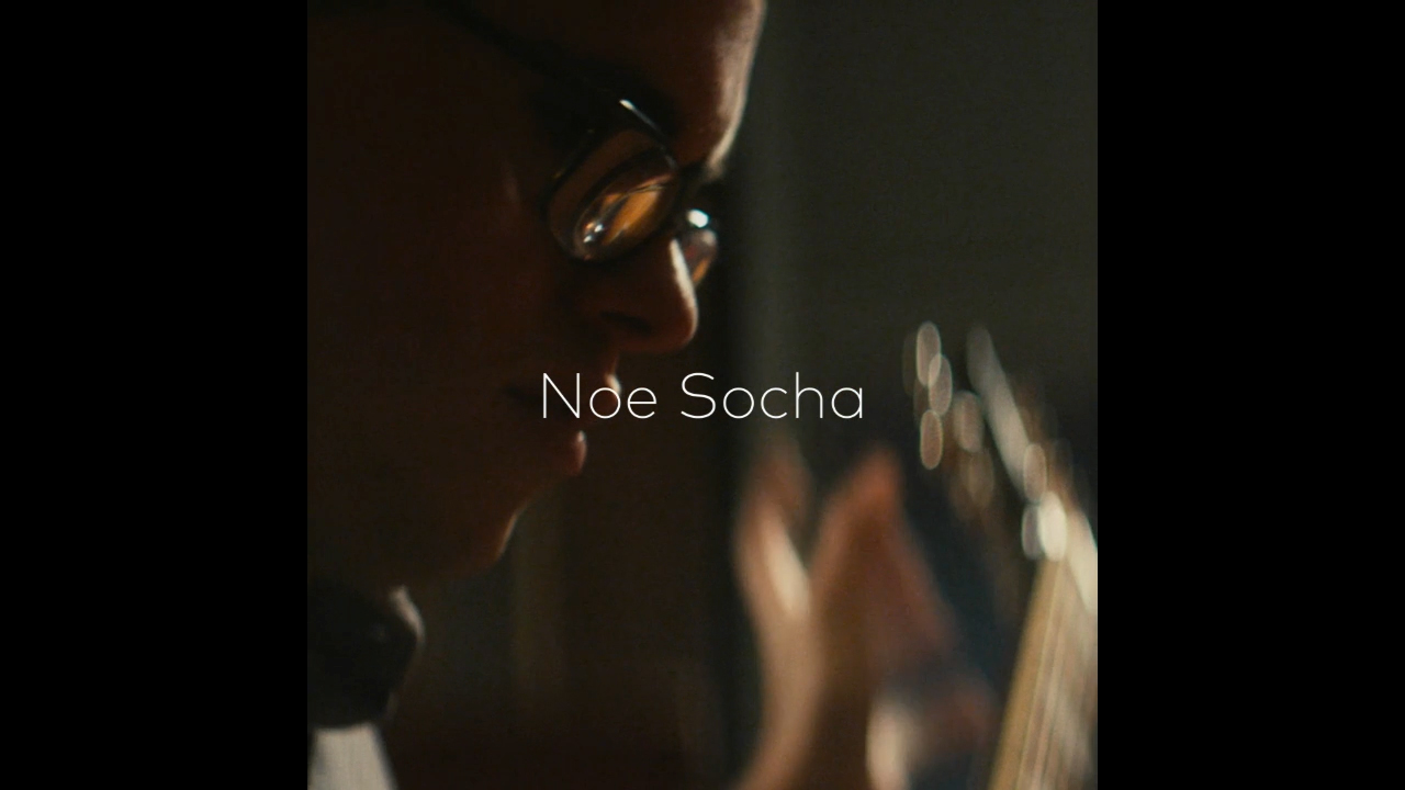 Noé Socha shares his journey of being a blind guitarist and harmonica player and how music has enabled him to create unique connections with people and break down stereotypes.