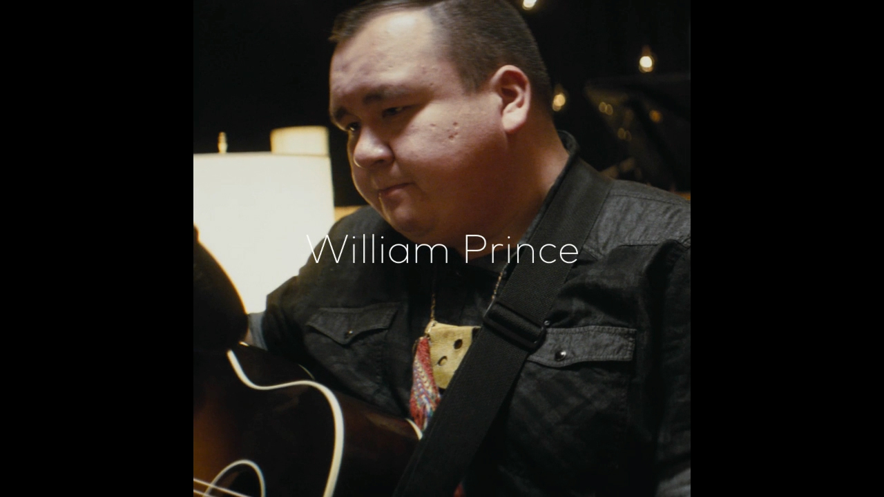 As a Canadian aboriginal artist, William Prince, shares the stigma he faced being a First Nations person and how he is breaking stereotypes using music to unite people and be a bright foot forward.