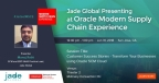 Manoj Rathi, Jade Global's Director of Enterprise Applications, ERP will be speaking about Jade's Cloud Customer Success Stories during the Modern Supply Chain Experience on Wednesday, Jan 31st (Photo: Business Wire)